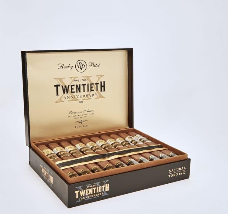 Cigar Rocky Patel Twentieth Anniversary Natural 3