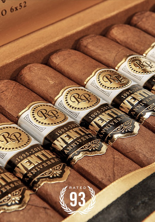 Rocky Patel_Cigar_Top Rated_Twentieth Anniversary Natural
