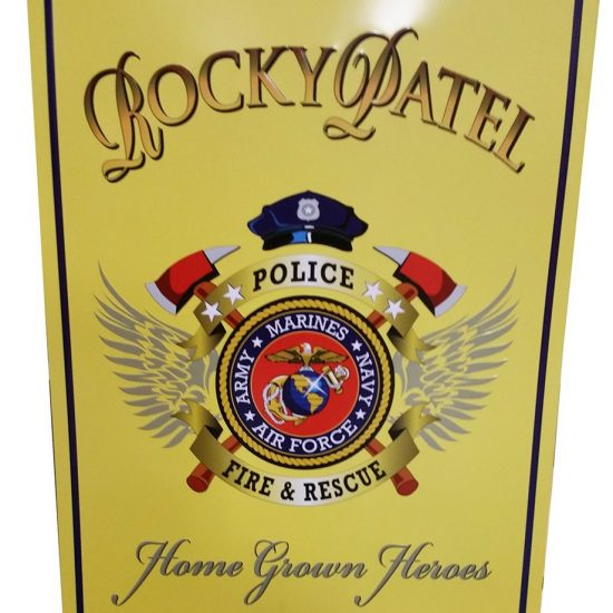 Home Grown Heroes Tin Sign