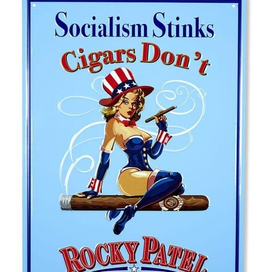 Socialism Stinks Tin Sign