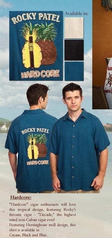 Island Collection Silk Shirt - Hardcore