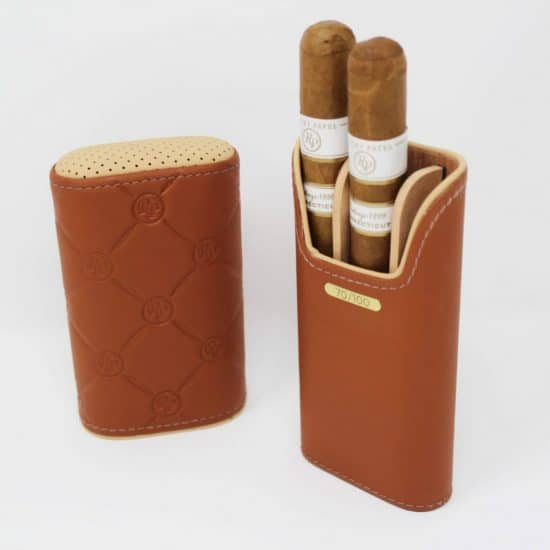 DBS Collection Limited Edition Gold Cigar Case