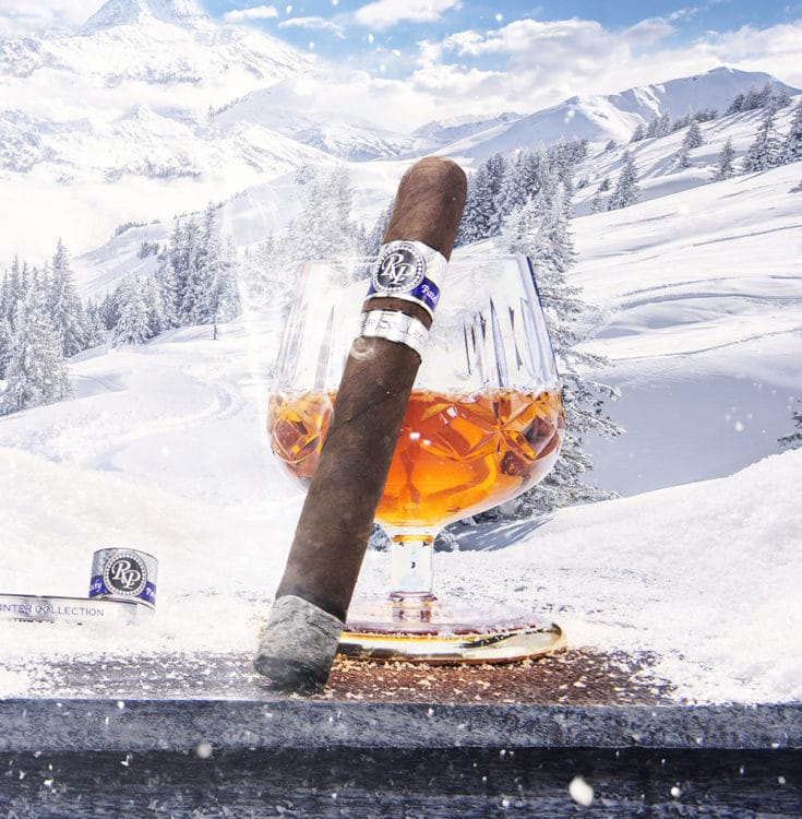 Winter Edition cigar stick by Rocky Patel
