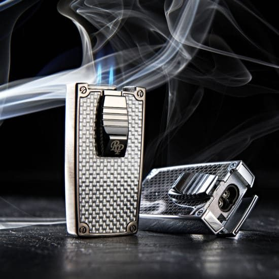 Two Flame Cigar Lighter